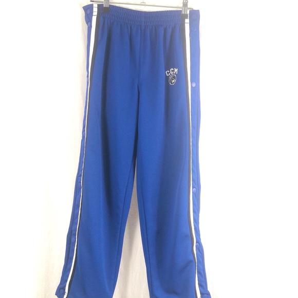 ⭐️ 5/$30- CCM snap sweat pants